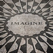 Imagine Print by Benjamin Matthijs