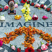 Imagine Peace Print by Sharla Gentile