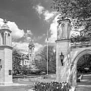 Indiana University Sample Gates Print by University Icons