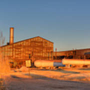 Industrial Site 1 Print by Douglas Barnett