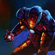 Iron Man Print by Paul Meijering