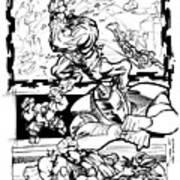 Ironman Vs Hulk Print by Isaac Cordova