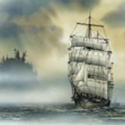 Island Mist Print by James Williamson