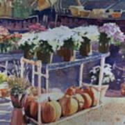 Ivy Corners Print by Elizabeth Carr