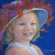 Jada's Hat Print by Tanja Ware