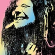 Janis Joplin Print by Robbi  Musser