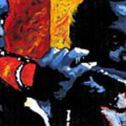 Jazz Trumpeters Print by Yuriy  Shevchuk