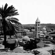 Jerusalem View From The Southwest Print by Munir Alawi