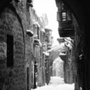 Jerusalem: Winter Print by Granger