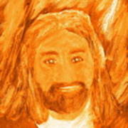 Jesus Is The Christ The Holy Messiah 3 Print by Richard W Linford