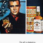Jim Beam Ad, 1966 Print by Granger
