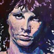 Jim Morrison The Lizard King Print by David Lloyd Glover
