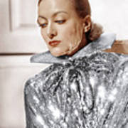 Joan Crawford, Photo By Hurrell, Ca Print by Everett