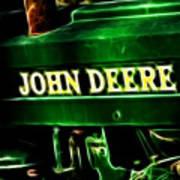 John Deere 2 Print by Cheryl Young