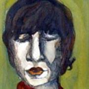 John Lennon As An Elf Print by Mindy Newman