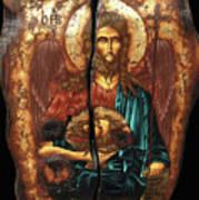 John The Baptist Print by Iosif Ioan Chezan