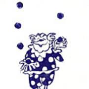 Juggling Clown Print by Barry Nelles Art