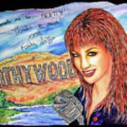 Kathywood Print by Joseph Lawrence Vasile
