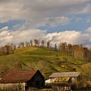 Kentucky Mountain Farmland Print by Douglas Barnett