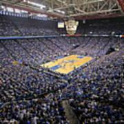 Kentucky Wildcats Rupp Arena Print by Replay Photos