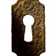 Key Hole Print by Tony Cordoza