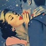 Kiss Goodnight Print by English School