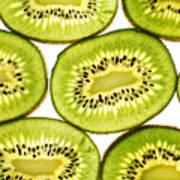 Kiwi Fruit II Print by Paul Ge