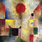Klee: Red Balloon, 1922 Print by Granger