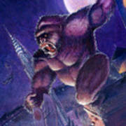 Kong Print by Ken Meyer jr