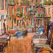 La Curva Sul Canale Print by Guido Borelli