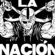 La Nacion Print by Brian Child