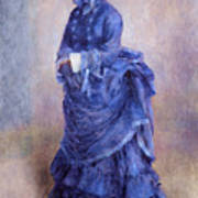 La Parisienne The Blue Lady  Print by Pierre Auguste Renoir