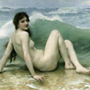 La Vague Print by William Adolphe Bouguereau