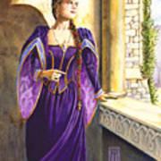 Lady Ettard Print by Melissa A Benson