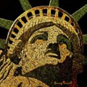 Lady Liberty Print by Doug Powell