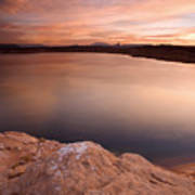 Lake Powell Dawn Print by Mike  Dawson