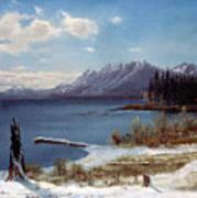 Lake Tahoe Print by Albert Bierstadt