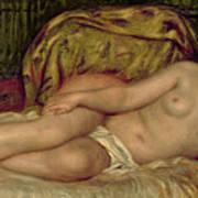 Large Nude Print by Pierre Auguste Renoir