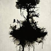 Last Tree Standing Print by Nicklas Gustafsson