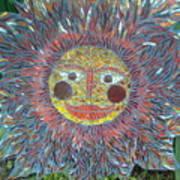 Le Soleil Print by Kimberly Barrow