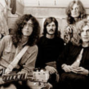 Led Zeppelin 1969 Print by Chris Walter