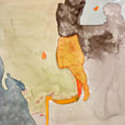 Les Demoiselles Of Santa Cruz V7 Print by Susan Cafarelli Burke