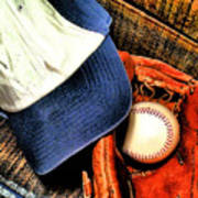 Let's Play Ball Print by Jimmy Ostgard