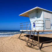 Lifeguard Tower Photo Print by Paul Velgos