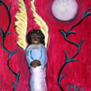 Little Angel Print by Pilar  Martinez-Byrne