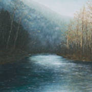 Little Buffalo River Print by Mary Ann King
