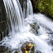 Little Elbow Waterfall Print by Thomas R Fletcher