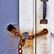 Locked Out Print by Evelina Kremsdorf