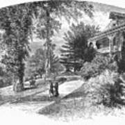 Long Island: Summer Home Print by Granger