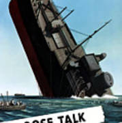 Loose Talk Can Cost Lives Print by War Is Hell Store